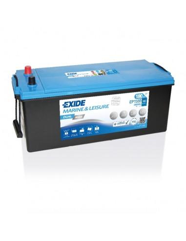 Batería Exide EP1500 - AGM  12V - 180Ah - 900A
