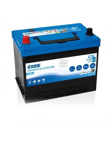 Batería Exide ER350 12V - 80Ah - 510A