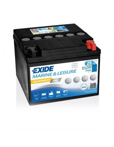 Bateria Exide Gel ES290 12V - 25Ah - 240A - Marine & Multifit Equipment Gel