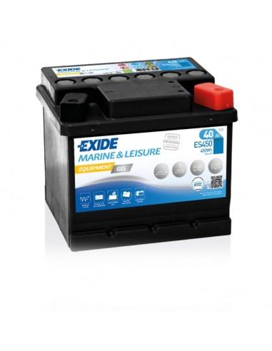 Bateria Exide Gel ES450 12V - 40Ah - 280A - Marine & Multifit Equipment Gel