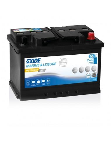 Bateria Exide Gel ES650 12V - 56Ah - 460A - Marine & Multifit Equipment