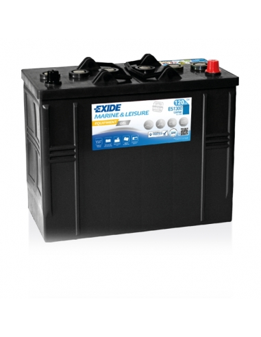 Bateria Exide Gel ES1300 - 12V - 120Ah - 750A - Marine & Multifit Equipment
