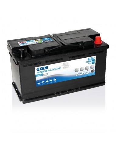 Batería Exide EP800 - 12V - 95Ah - 850A - Dual AGM