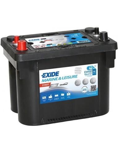 Batería Exide EM900 - AGM  12V - 42Ah - 700A