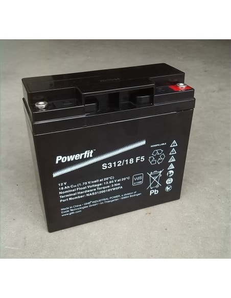 BATERIA AGM POWERFIT S312/18 G5