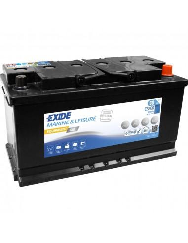 Bateria Exide Gel ES900 12V - 80Ah - 540A - Marine & Multifit Equipment