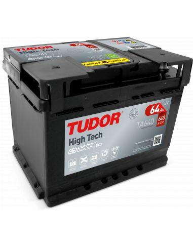 Batería Tudor TA64012V - 64Ah - 640A