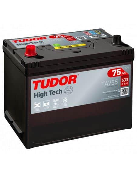 Batería Tudor TA755 12V - 75Ah - 630A.