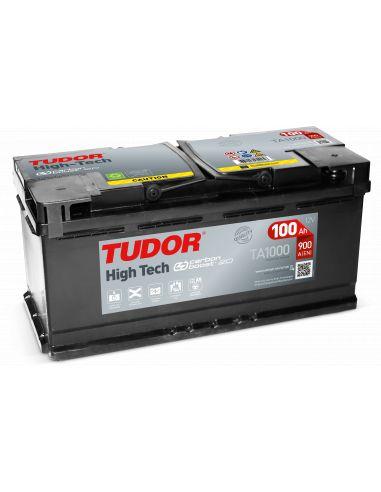 Batería Tudor TA1000 12V - 100Ah - 900A.