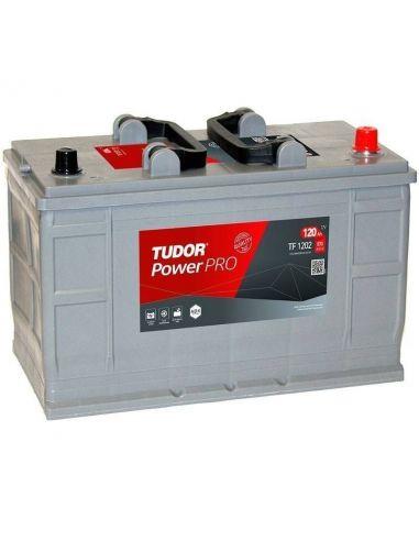 Batería Tudor TF1202 12V - 120Ah - 870A - Serie Power PRO