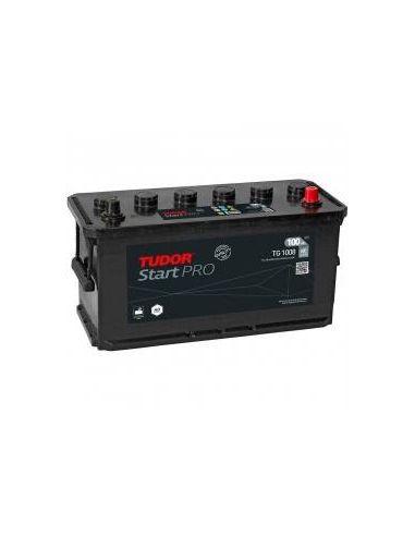 Batería Tudor TG1008 12V - 100Ah - 680 A - Serie Start PRO