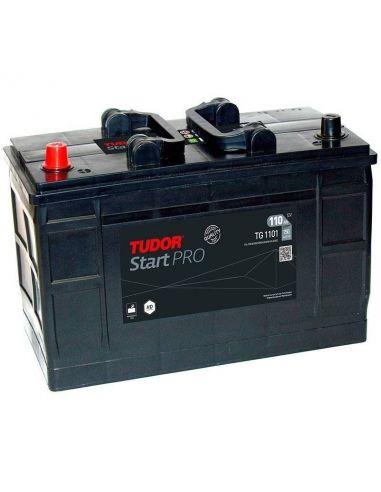 Batería Tudor TG1101 12V - 110Ah - 750A - Serie Start PRO