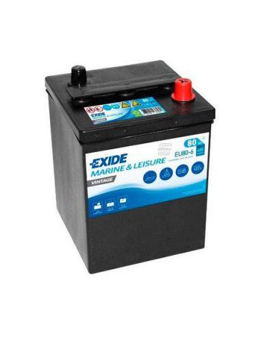 Batería Exide EU80-6 - 6V - 80Ah - 600A