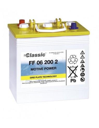 BATERIA MONOBLOC GNB CLASSIC FF062002