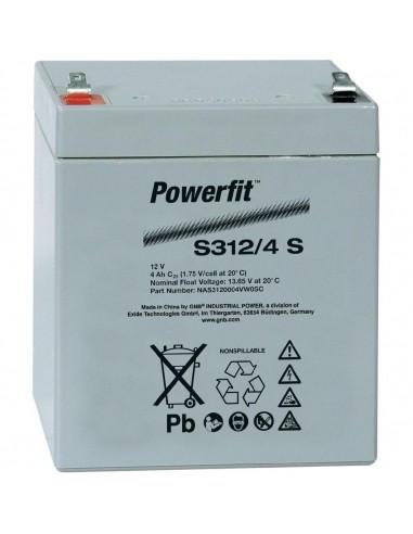 BATERIA AGM POWERFIT S312/4 S