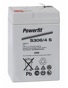 BATERIA AGM POWERFIT S306/4 S