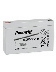 BATERIA AGM POWERFIT S306/7 S