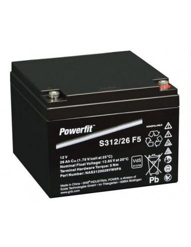 BATERIA AGM POWERFIT S312/26 F5