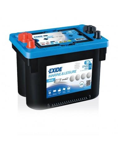 Batería Exide EP450 - AGM  12V - 50Ah - 750A